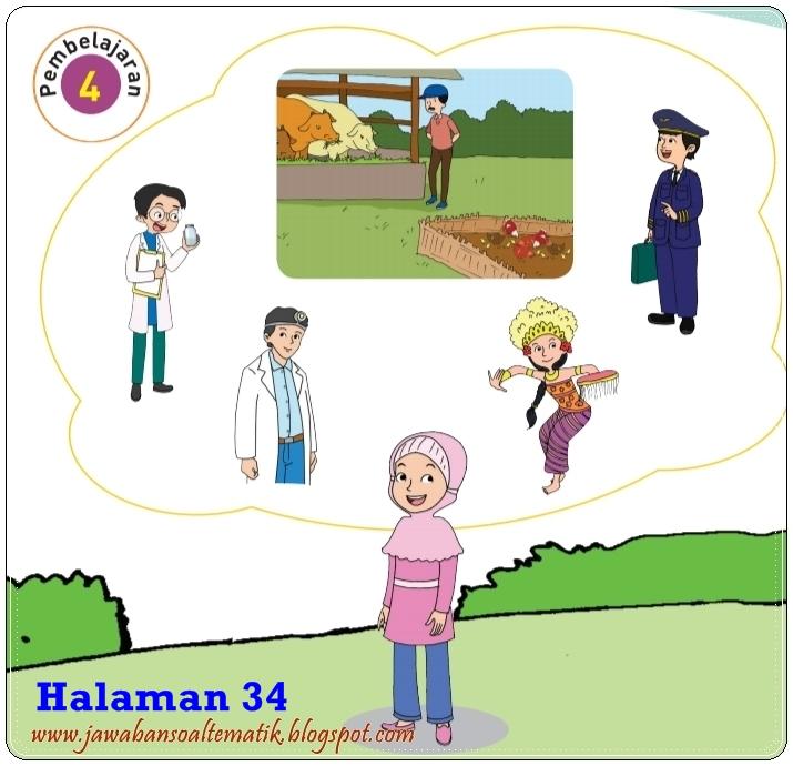 Kunci Jawaban Buku Tematik Tema 6 Kelas 4 Halaman 35 36 38 39