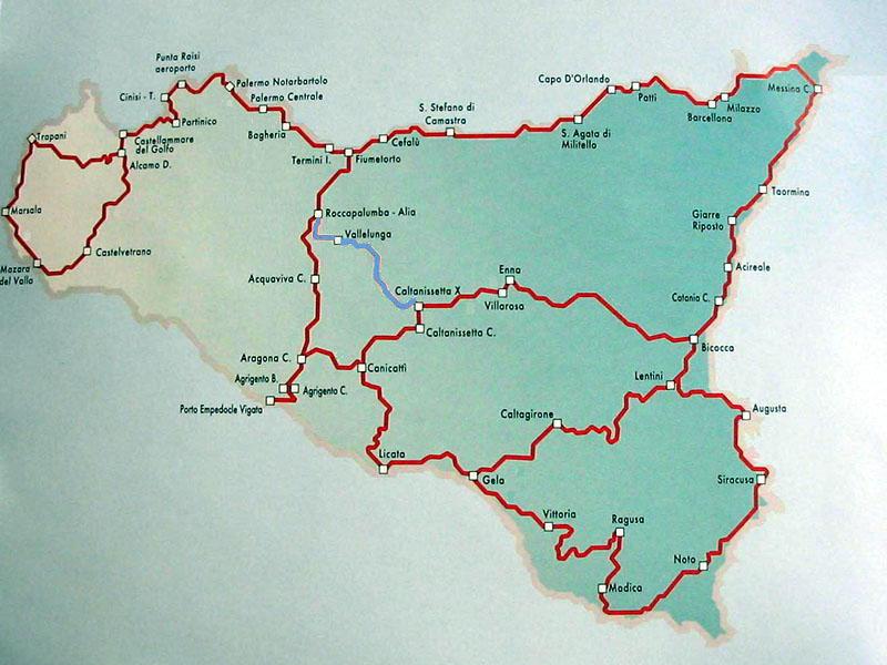 Cartina Ferroviaria Sicilia.De Urbe 24 Settembre 1876 2012 136 Anniversario Della 1 Stazione Ferroviaria