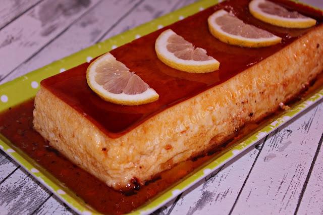 Flan De Limón