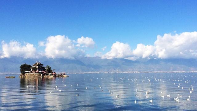 ทะเลสาบเอ๋อร์ไห่ (Erhai Lake)