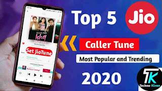 Top 5 Trending Jio Caller Tunes | Best 5 Caller Tunes