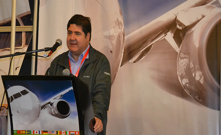 Alfredo Nolasco, director general de Bombardier en México.(Foto:VI)