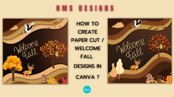 Blob shadow frame designs in canva