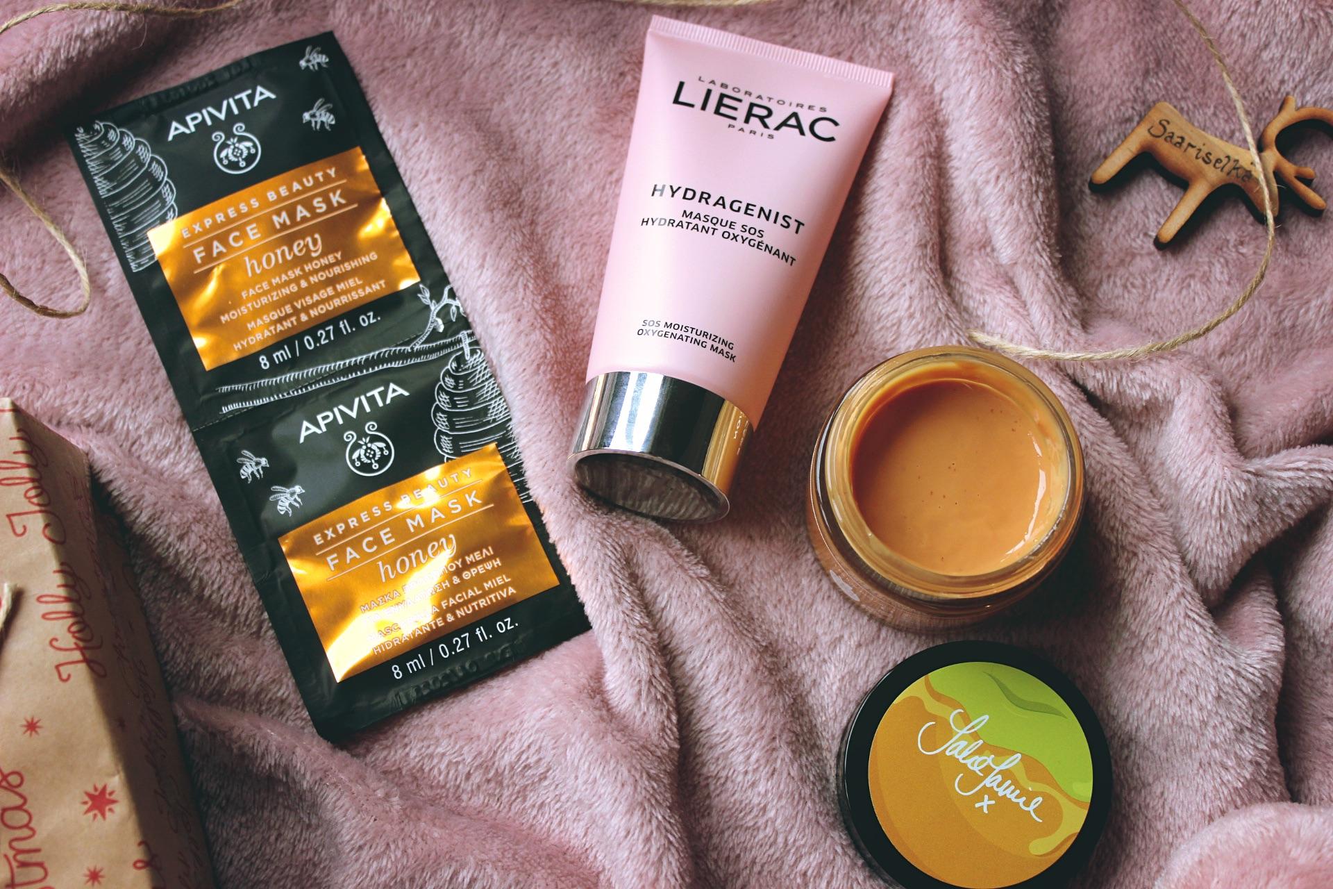 подхранващи и хидратиращи маски за лице за зимата маска за лице Lierac Apivita Revolution Skincare