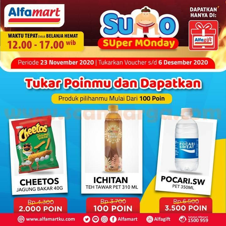 Promo Alfamart SUMO Super Monday (Setiap Senin) Periode 23 November 2020! 23 November 2020