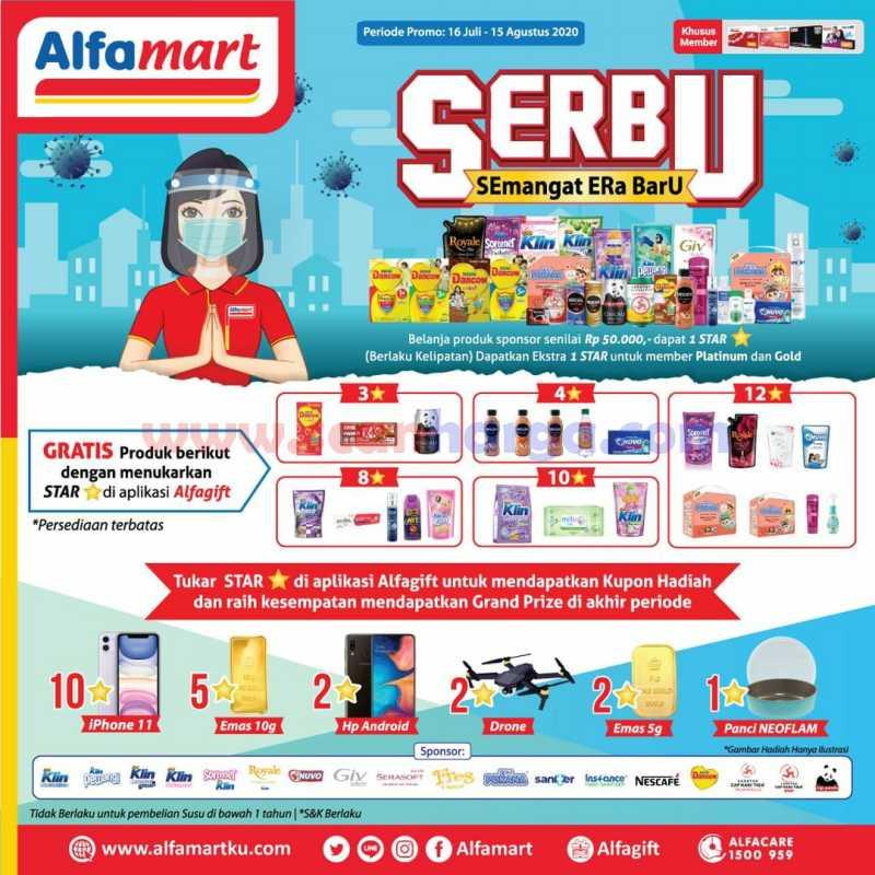 Alfamart Serbu! Gratis Produk Menarik Dengan Menukar Star di Aplikasi Alfagift