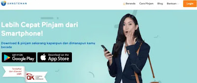 UangTeman Pinjaman Online Cepat & Terpercaya