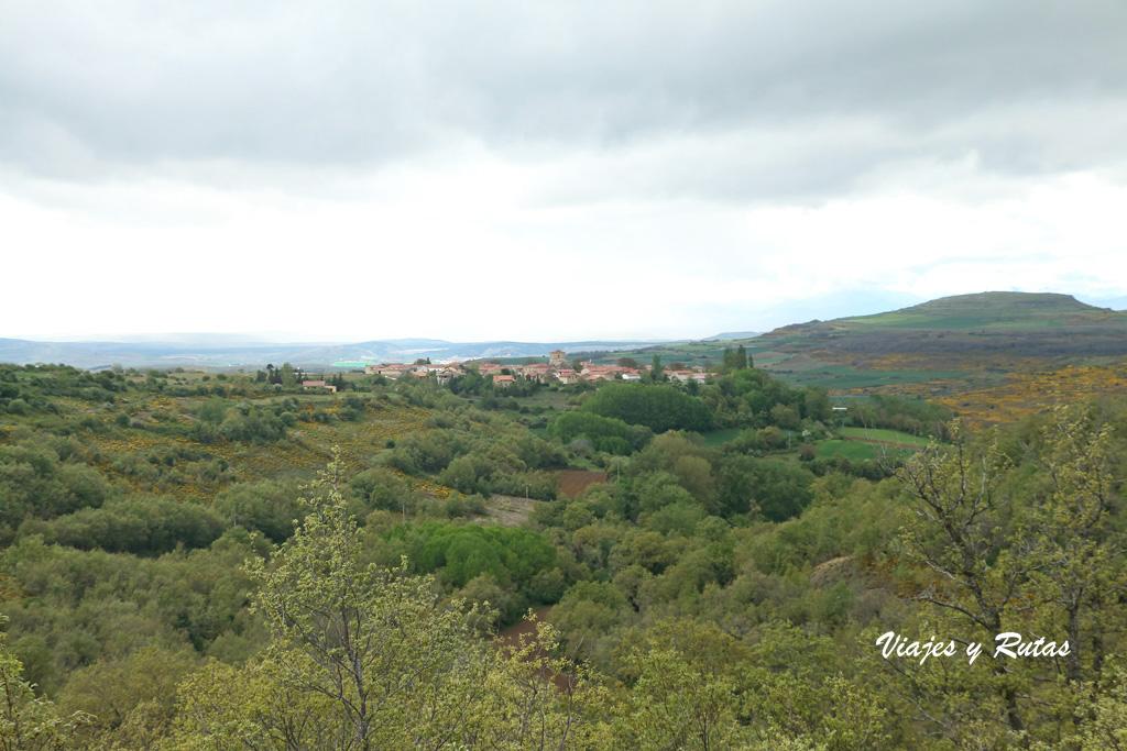 Vistas desde el Mirador de Valcabado, Palencia