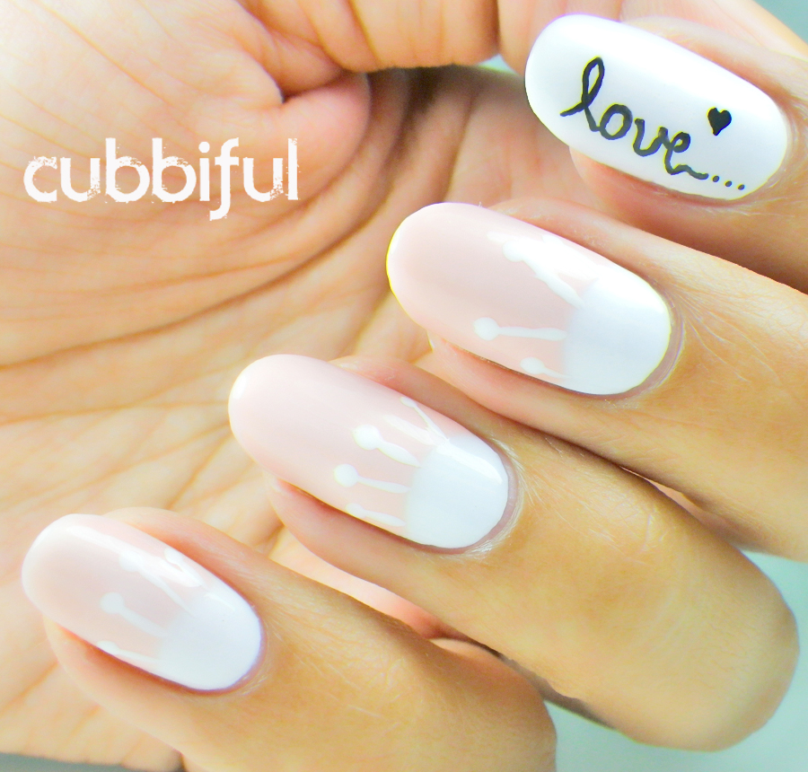 love nails inspired by Odette Swan