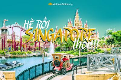 Hè rồi! Singapore thôi!