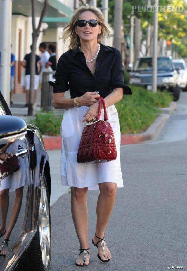 Sharon Stone Looks