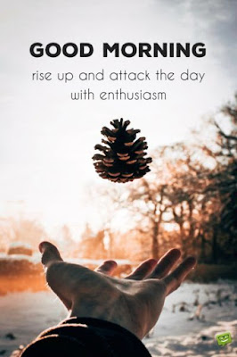 Morning Enthusiasm Quotes