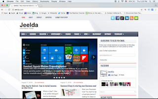 Screenshot of JEELDA Website
