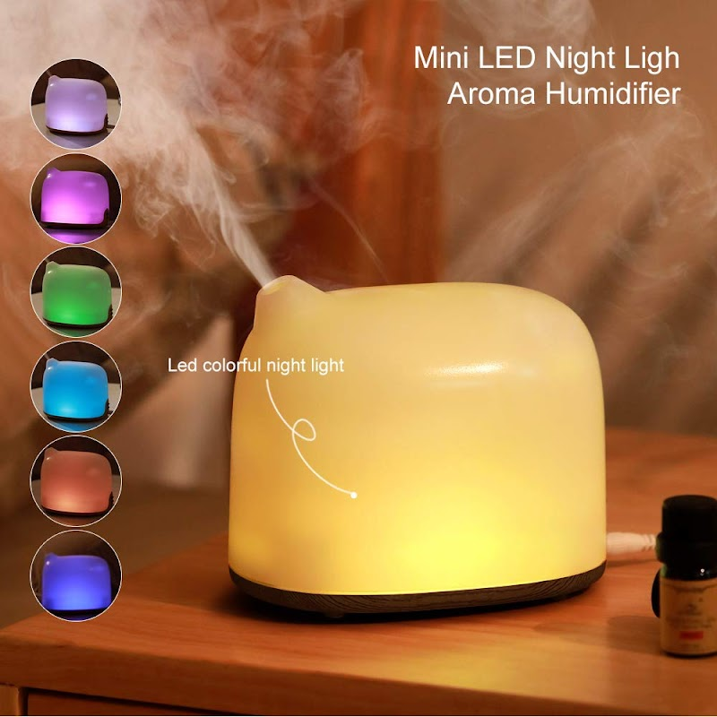 55% off Aroma Essential Oil Diffuser 300mL Cool Mist Humidifier