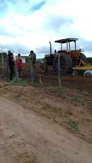 Pelo quarto ano consecutivo, prefeitura de Baraúna corta terras de agricultores