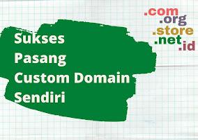 pasang custom domain sendiri