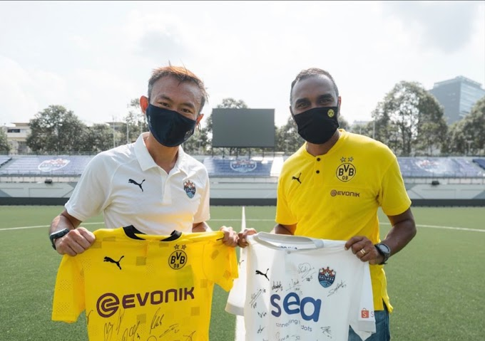 Lion City Sailors and Borussia Dortmund Sign Partnership Focused on Youth Development and Knowledge sharing