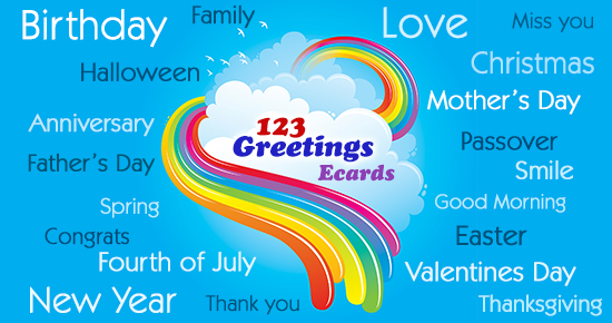 How To Send An Ecard using 123 Greetings
