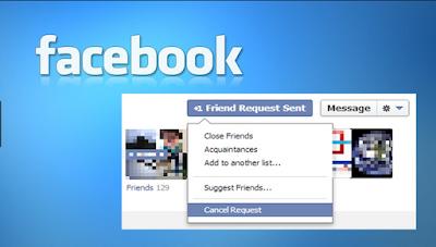 Cancel Facebook friend requests
