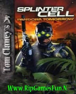 Tom Clancy's Splinter Cell Pandora Tomorrow,ripgamesfun,cover,image,screenshot,walpaper