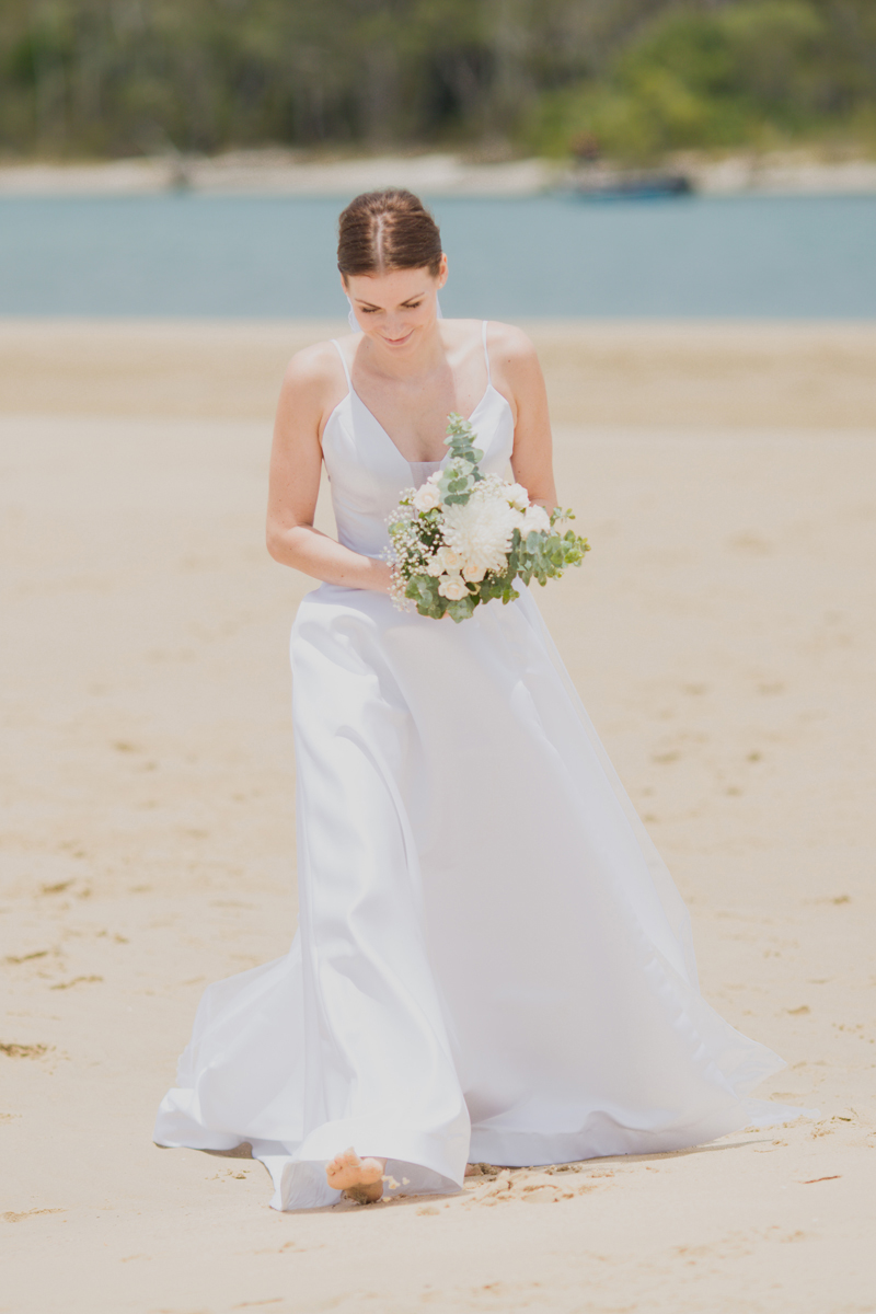 noosa beach bride