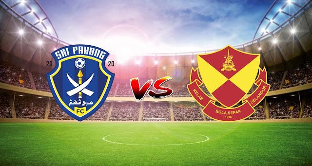 Live Streaming Sri Pahang FC vs Selangor FC 5.5.2021 Liga Super