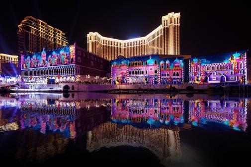 【繽紛聖誕】澳門金沙度假區呈獻精彩活動 大型3D光影滙演