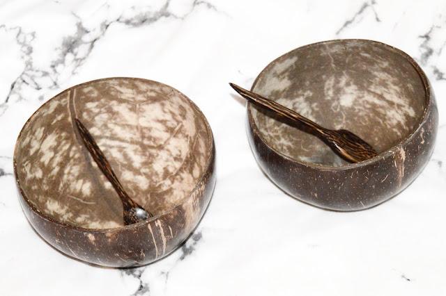 Vie Gourmet Coconut Bowls & Spoons