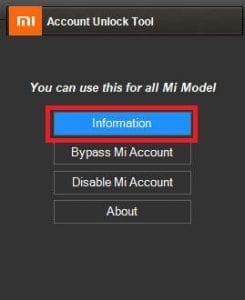 Download Tool Reset MI AccountRemove MI Password