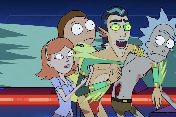Watch The Full Season 5 Premiere Of Rick And Morty