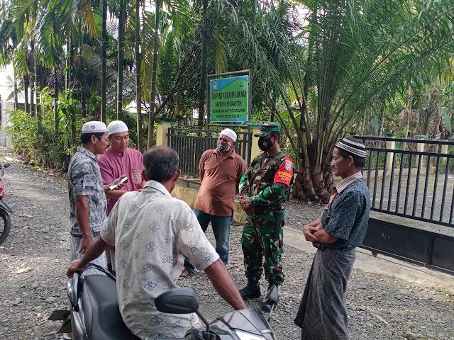 Babinsa Posramil 05/PC Turun Ke Wilayah Binaan Lakukan Komsos Dengan Warga