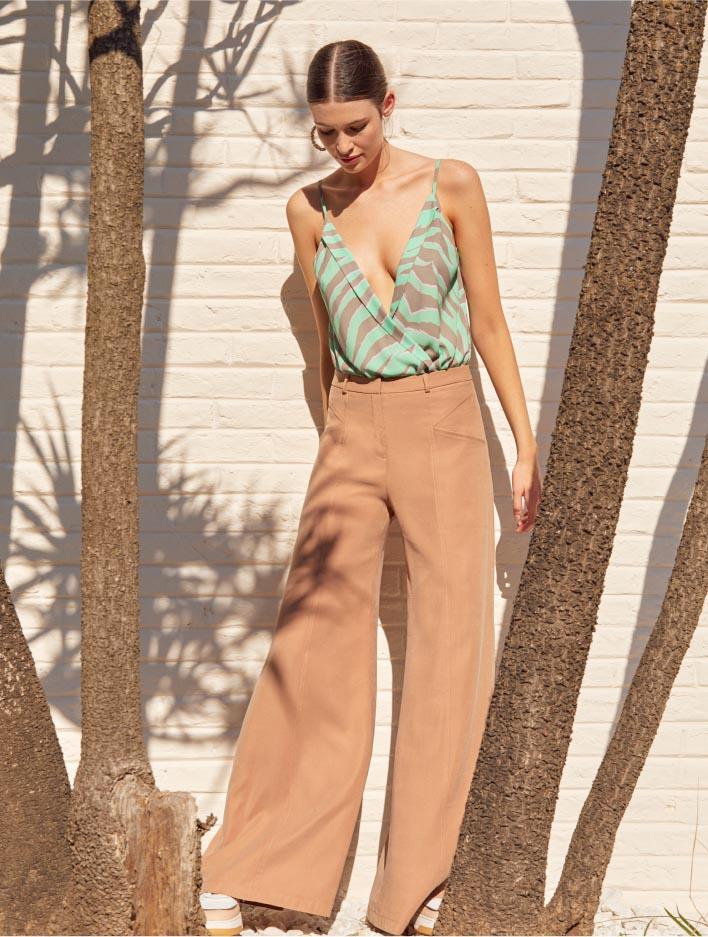 Pantalones casuales elegantes moda mujer verano 2021