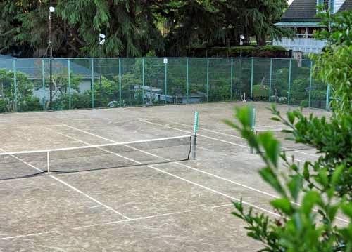 Yamate Museum of Tennis Yokohama, Kanagawa, Japan.