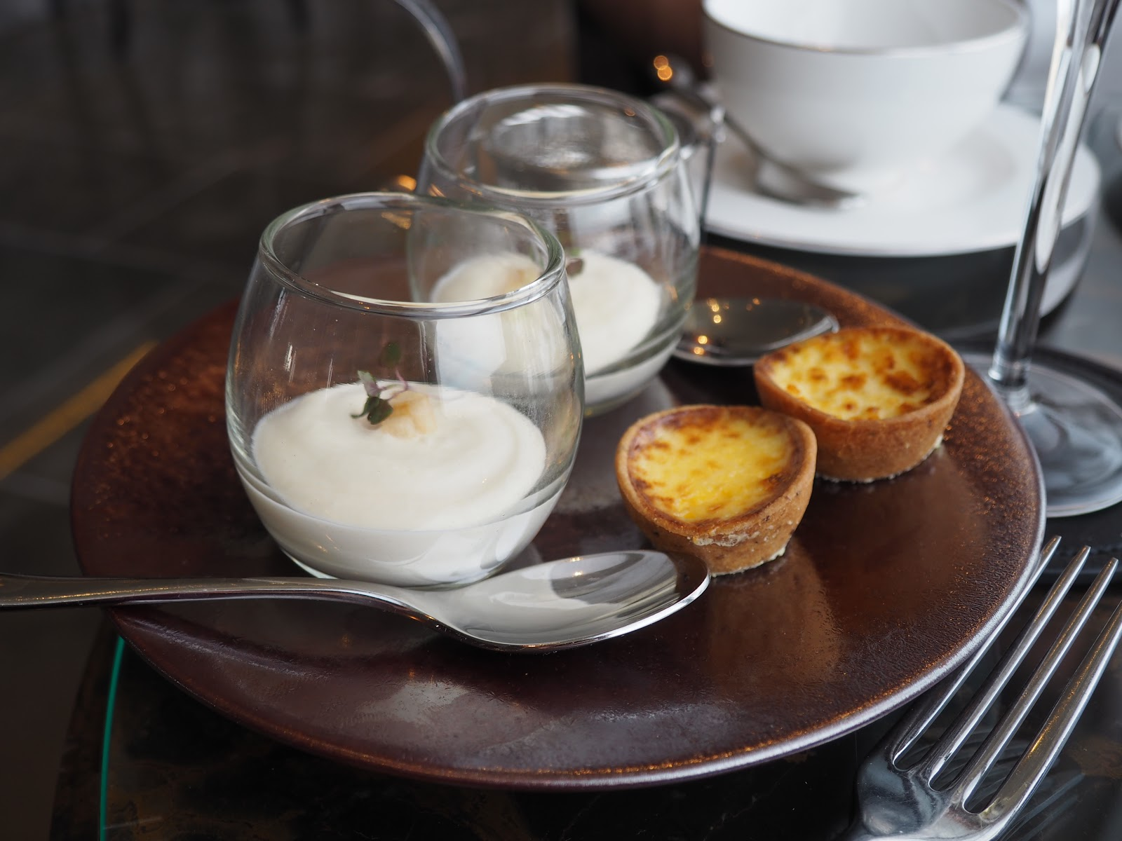 Afternoon Tea at GONG Bar at the Shangri La at The Shard