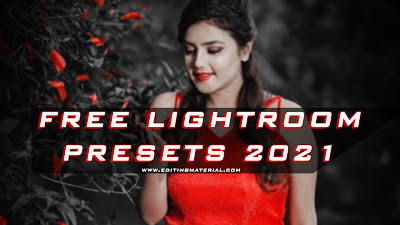Red and black tone lightroom preset 2021