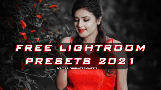 Red and black dng preset download free 2021, How to edit red and black in lightroom app