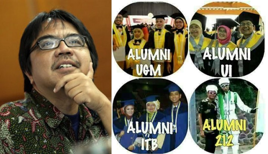 Ade Armando hina alumni 212