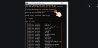 cara hack WiFi menggunakan CMD