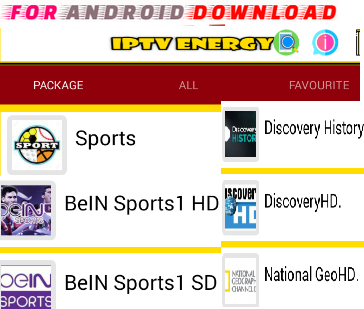 Download Android Free ENERGYIPTV Apk -Watch Free Live Cable Tv Channel-Android Update LiveTV Apk  Android APK Premium Cable Tv,Sports Channel,Movies Channel On Android