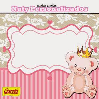 Little Princess Bear: Free Printable Mini Kit.
