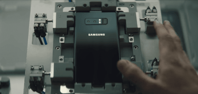شركة سامسونج تنشر فيديو اليوم توضح فيه دور الإنسان الآلي في تصنيع هواتفها