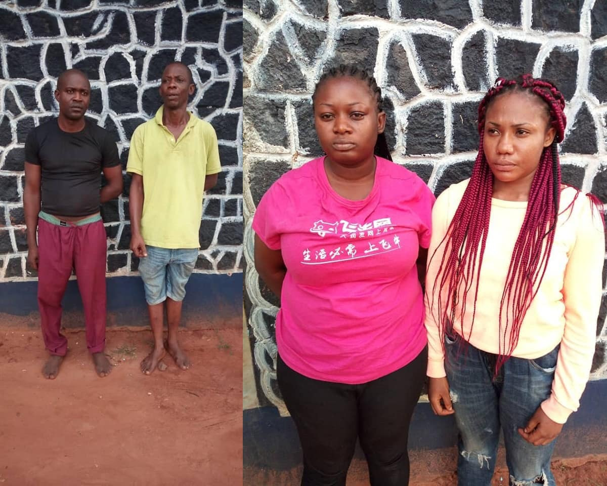 ''One chance''Robbery Group Arrested In Anambra  (Photo)