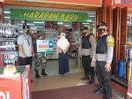 Patroli Dialogis Polsek Langsa Barat Ingatkan  Kepada Masyarakat Tentang Penggunaan Masker