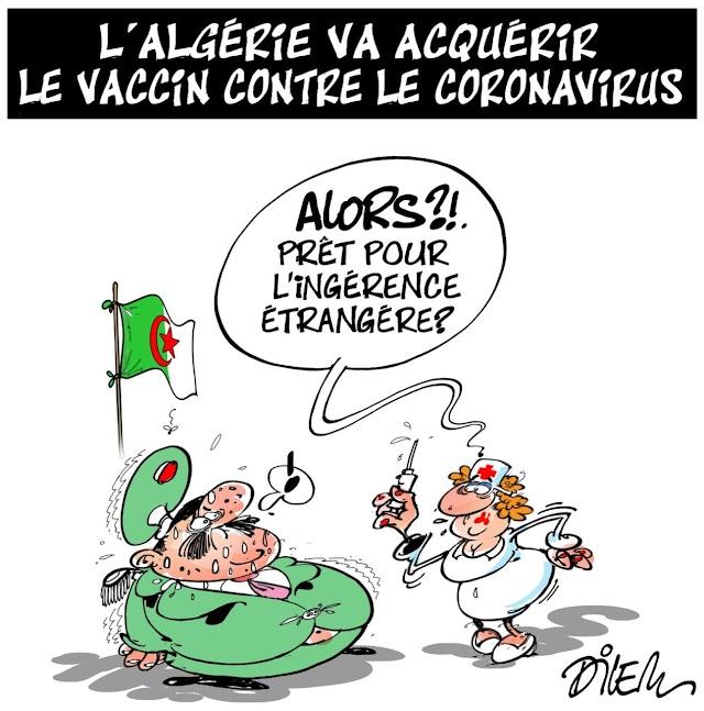 L'Algérie va acquérir le vaccin contre le coronavirus