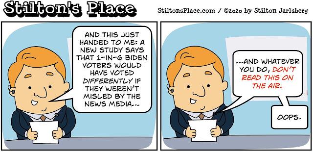 stilton's place, stilton, political, humor, conservative, cartoons, jokes, hope n' change, fake news, election, trump, biden, mainstream media, election interference, Kamala,