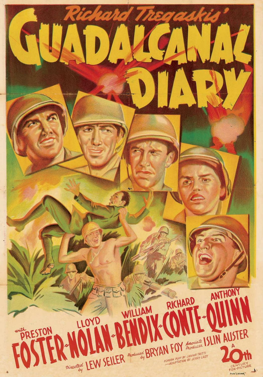 Guadalcanal Diary (1943) ταινιες online seires oipeirates greek subs