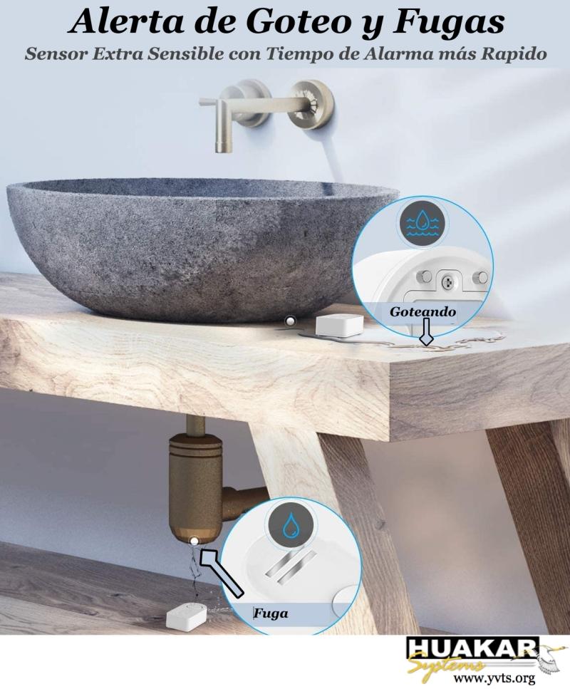 HS-WS1001- Sensor de agua Goove