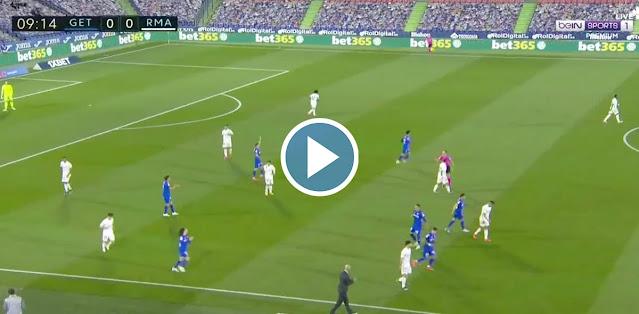 Getafe vs Real Madrid Live Score