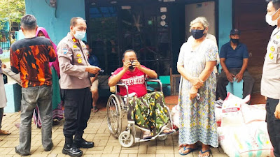 Satbinmas Polres Metro Tangerang Kota dan Buddha Tzu Chi Giat Baksos di Kelurahan Tanah Tinggi