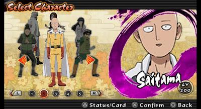 Naruto Impact NSUNI Mod Texture Char Saitama Android free